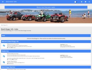 beachbuggy.info screenshot