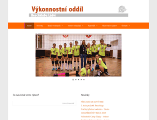 beachclub.cz screenshot