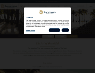beachcomber-hotels.com screenshot