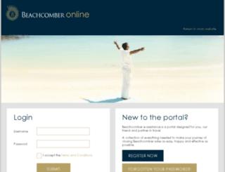 beachcomberonline.co.za screenshot