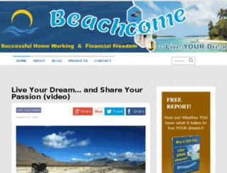 beachcome.com screenshot