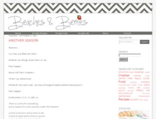 beachesandberries.com screenshot