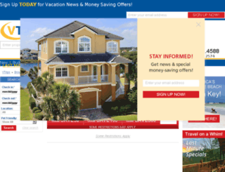 beachfloridarentals.com screenshot