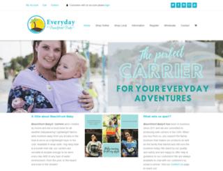 beachfrontbabywraps.com screenshot