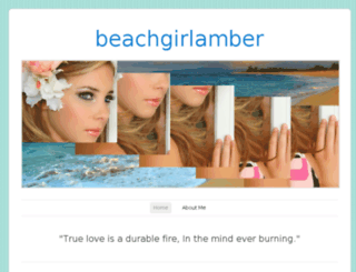 beachgirlamber.wordpress.com screenshot