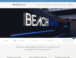 beachhaveninn.com screenshot