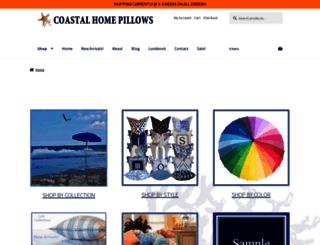beachhousepillows.com screenshot