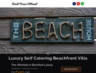 beachhousewitsand.co.za screenshot