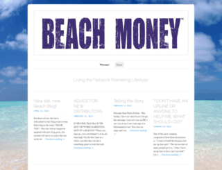 beachmoney.wordpress.com screenshot