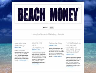 beachmoney.wordpress.com screenshot