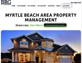 beachrentalgroup.com screenshot