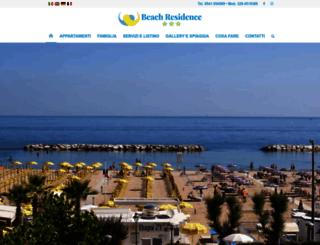 beachresidence.it screenshot