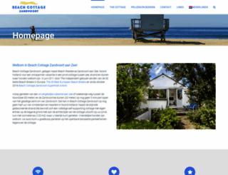 beachresidencezandvoort.com screenshot
