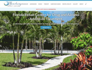 beachwaytherapycenter.com screenshot
