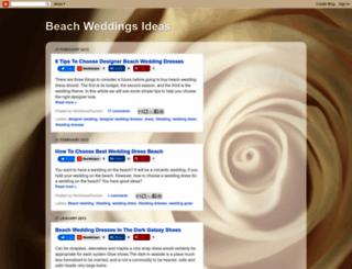 beachweddingsideas.blogspot.com screenshot