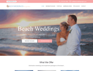 beachweddingsvirginia.com screenshot