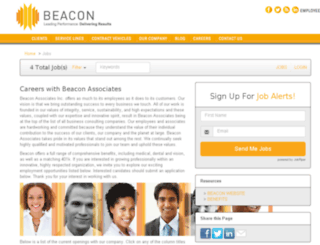 beaconassociates.applicantpro.com screenshot