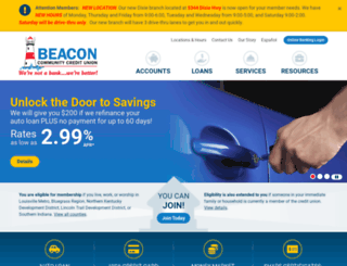 beaconccu.org screenshot