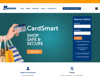 beaconcu.com screenshot