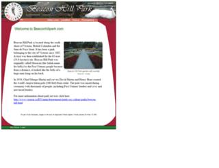 beaconhillpark.com screenshot