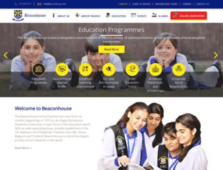 beaconhouse.edu.pk screenshot