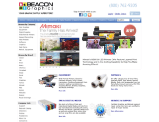 beaconsigns.com screenshot