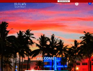 beaconsouthbeach.com screenshot