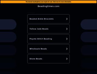 beadingtimes.com screenshot