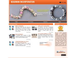 beads-india.com screenshot