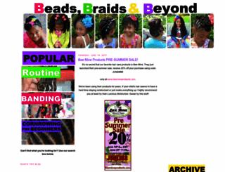 beadsbraidsbeyond.blogspot.com screenshot