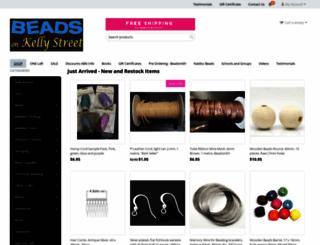 beadsonkellystreet.com.au screenshot