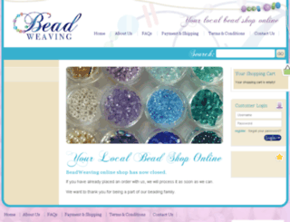 beadweaving.com.au screenshot