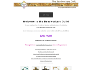 beadworkersguild.org.uk screenshot