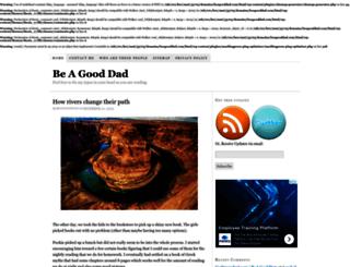 beagooddad.com screenshot