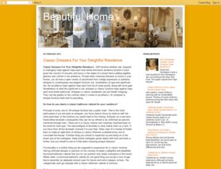 beahomes.blogspot.com screenshot