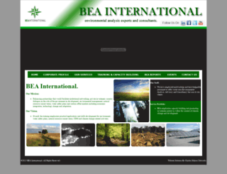 beainternational.org screenshot