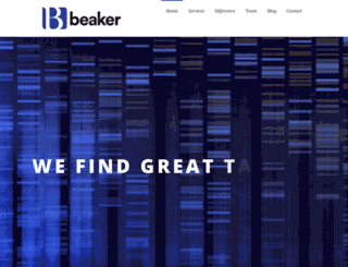 beaker.com screenshot