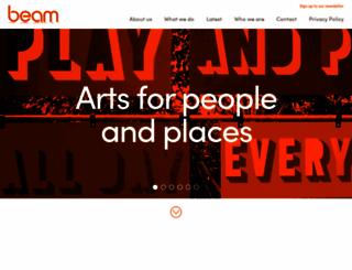 beam.uk.net screenshot