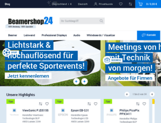 beamershop24.net screenshot