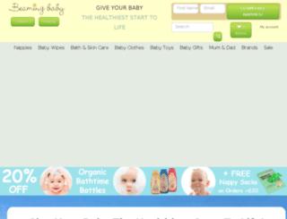 beamingbaby.co.uk screenshot