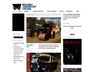beamishtransportonline.co.uk screenshot