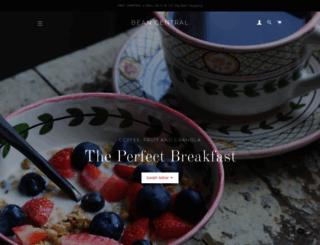 beancentral.com screenshot