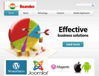 beandesinfotech.com screenshot