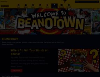 beanotown.com screenshot