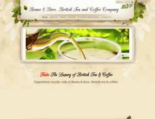 beansandbros.weebly.com screenshot