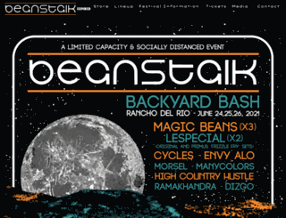 beanstalkfestival.com screenshot