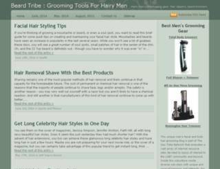 beard-tribe.com screenshot