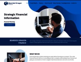 beardeddragonfinance.com screenshot
