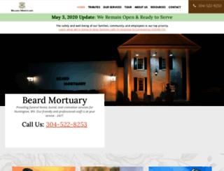 beardmortuary.com screenshot