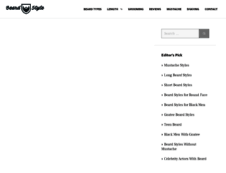 beardstyle.net screenshot